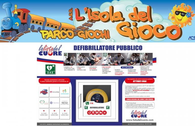 Postazione DAE Parco Giochi – Borgo San Lorenzo