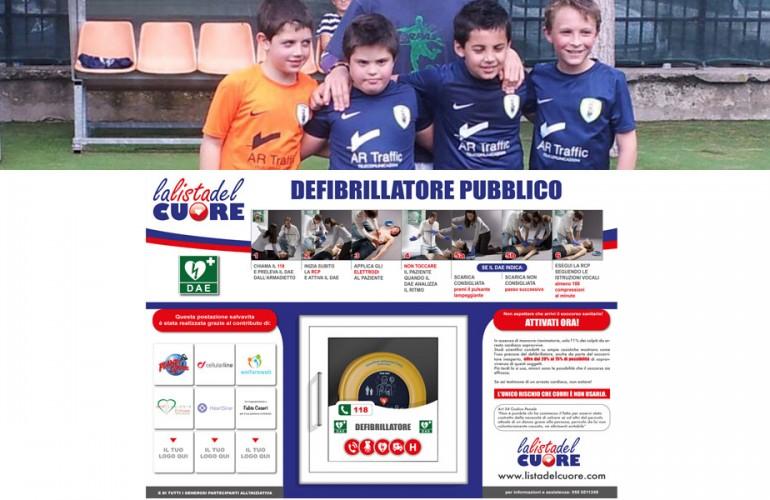 Postazione DAE – Polisportiva Orpas Milano