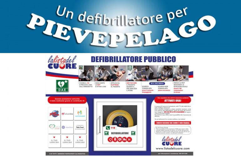 Postazione DAE – Impianti sportivi di Pievepelago (MO)