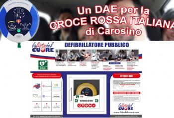 Postazione DAE – Croce Rossa Italiana di Carosino